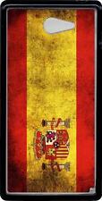 Carcasa dura case Sony Xperia M2 bandera espana