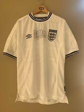 Michael Owen Signed Euros 2000 Umbro England Football Home Shirt