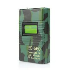 New RK560 50-2400MHz Frequency Counter CTCSS/DCS Decoder for Walkie Talkie Radio