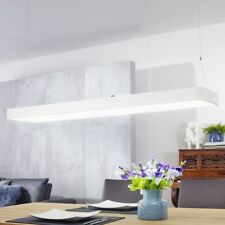 LED Bürolampe 64 Watt eckig Pendelleuchte 5440 Lumen Deckenlampe A+ Hängelampe