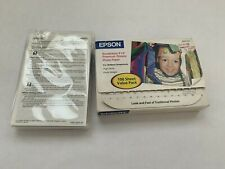"Epson Borderless 4"" X 6"" Premium Glossy Photo Paper - 100 Sheets- High Gloss"