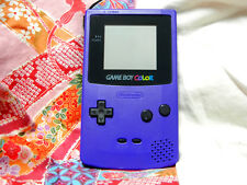 """Game Boy Color Ver Purple Handheld System"" C12282159 100% Works Great!"
