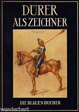 La blauen LIBROS - DURERO como ZEICHNER - Johannes BEER tb (1954)
