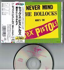 SEX PISTOLS Never Mind The Bollocks JAPAN CD VJCP-3215 w/Cool Price OBI Free S&H