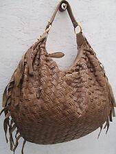 -AUTHENTIQUE  grand sac à main  MIU MIU  cuir tressé  TBEG vintage bag
