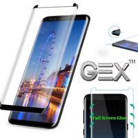 Full 3D Curved Tempered Glass Protect For Samsung Galaxy S8 edge Note 8 S8 plus