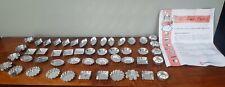 More details for large amount of matfer vintage mini metal cake cases