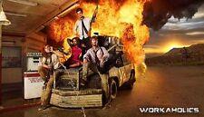 24x36 Workaholics TV Poster Adam DeVine Blake Anderson