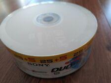 SONY 25+5 DVD+R Rohlinge Leerdisks (NEU OVP)