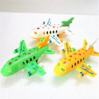 Plastic Air Bus Model Kids Children Pull Back Airliner Passenger Plane Toy'Gifts