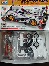TAMIYA 1:32 MINI 4WD STARTER PACK MA POWER SPEC BLAST ARROW CON MOTORE ART 18647
