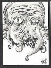 WAR OF THE WORLDS EARTH UNDER THE MARTIANS SKETCH CARD #WS2 ROBERT HACK v1