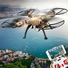 FPV SYMA X8HW 2.4G 6 AXIS GRYO QUADCPTER DRONE WIFI CAMERA 3 BATTERIES US SHIP