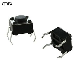 10x Tactile Button Switch 6x6x4.5mm Micro Momentary Push Arduino Breadboard