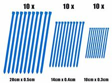 Zip Cable Lazos X 30 Azul se adapta a genéricos 50 Trigger X 9
