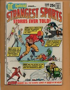 DC Special Presents #7 Strangest Sports Stories Ever Told VF+