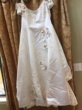 Wedding dress Size 16 Italian Silk
