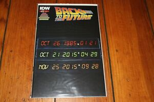 Back to the Future #1 2nd Print Low Print Run Variant Cover NEW Uncirculated NM+