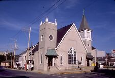 historic structures-Churches-Zion Evangel. Lutheran @ Northampton Pa.Fuji slide