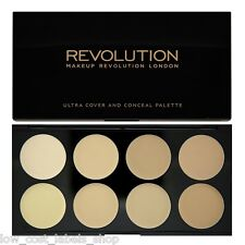 Cover & Conceal Palette Makeup Revolution  Contour Highlighter Light