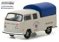 Greenlight 1:64 Running Empty Series 2 1974 VW Double Cab Pickup Canopy Chevron