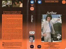 ARTHUR -  Dudley Moore - VHS - NTSC - NEW - Never played! - Original USA release