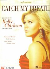 Kelly Clarkson Catch My Breath  US  Sheet Music Guitar,Piano,Voice