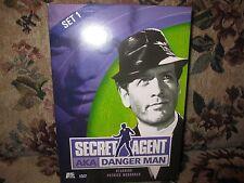 Secret Agent - Set 1 (DVD, 2001, 2-Disc Set) Patrick McGoohan, OOP, Spies