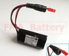 A SANYO Li-ion 18650 11.1V 2.6Ah Battery Pack 3S1P Triangle With PCM & Plug