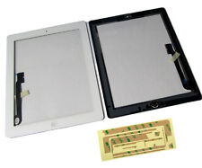 iPad 3 iPad3 Front Touch Screen Digitizer Panel Lens Home Button Flex White UK