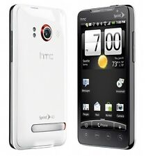 White Sprint HTC Evo 4G CDMA 8MP Camera WiFi GPS Smart Phone GoodESN No Contract