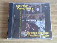 QUATTRO MOSCHE DI VELLUTO GRIGIO (ENNIO MORRICONE , DARIO ARGENTO)- CD NUOVO