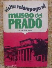 Visita relámpago al museo del Prado/ Mª del Pilar Bueno/ Rodegar/ 1973/Barcelona