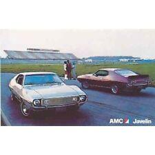 1973 AMC Javelin and AMX Factory Postcard mx3266-UGVXXD