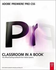 NEW - Adobe Premiere Pro CS5 Classroom in a Book by Adobe Creative Team