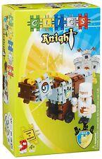 Clics TO-30853 Knight Ritter m. Pferd Baukasten Bausteine Klicken+Spielen ab 4J