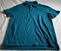 Merona Men's Size XL Light Blue Polo Short Sleeve Shirt The Ultimate Polo Classi