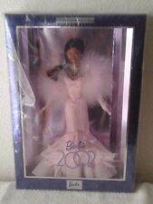 BARBIE DOLL 2002 COLLECTIBLES COLLECTOR EDITION PINK DRESS AFRO-AMERICAN