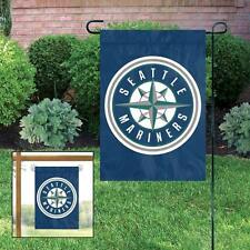 Seattle Mariners Applique and Embroidered Mini Garden/Window Flag
