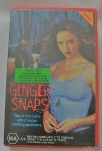 Ginger Snaps VHS 2000 Free Post