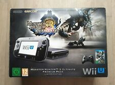 Console Nintendo Wii U Monster Hunter 3 Ultimate Premium Pack Limited Edition
