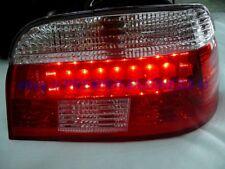FANALI FARI POSTERIORI A LED ROSSI/CROMO BMW SERIE 5 E39 BERLINA 11/95 A   08/00