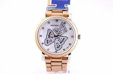New Watch with Beautiful Mother of Pearl Butterfly Design Dial Water Resistant