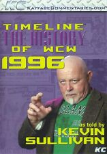 WCW Timeline 1996 Kevin Sullivan WWE WWF NWO Hulk Hogan Scott Hall Kevin Nash DX