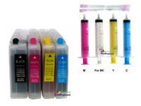 Refillable Ink Cartridges for Brother LC75 DCP-J525W, DCP-J725DW, DCP-J925DW