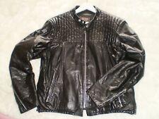 Cafe racer chaqueta de cuero Biker Jacket us44 L-XL VTG 60s Sears Norton Triumph Harley