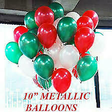 """16"""" Red Green Merry Christmas Foil Balloons Xmas party Decorations Santa New yea"""