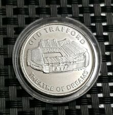 Manchester United Medal,Old Trafford Theatre of Dreams Coin in Capsule,Man Utd