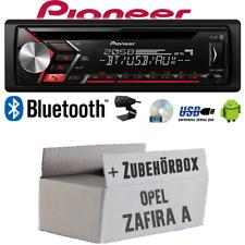 Autoradio Radio Pioneer für Opel Zafira A | Bluetooth USB MP3 Android  Einbauset