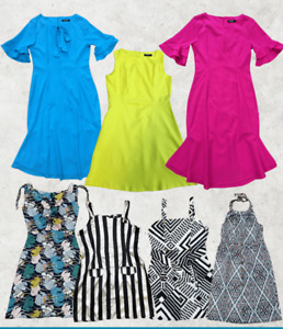 BOX OF 100 Mix Branded NEW Womens Clothing Items Joblot Wholesale bankrupt stock